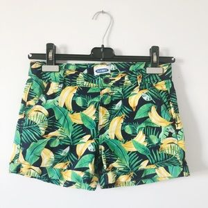 3/20$ SALE Old navy tropical 🍌 banana shorts